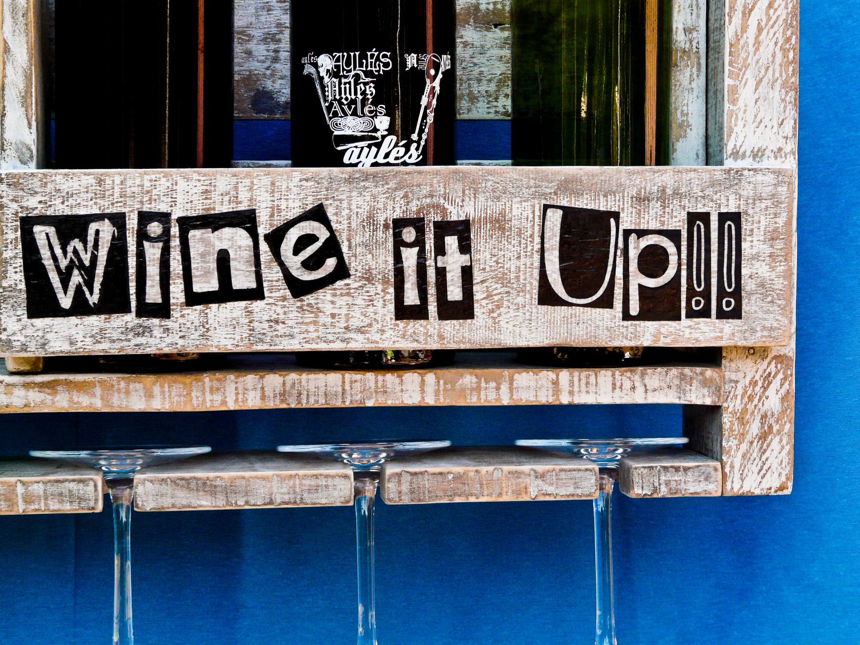 Botellero Wine it Up!! Repuntomadera.