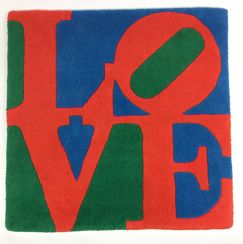 Quot Classic Love Quot Wool Tapestry Exclusive For F Galerie