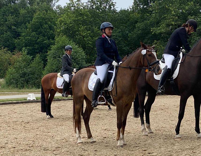 Nadine Schulze / Cidre de Pomme - 1.Platz Reitpferdeprüfung