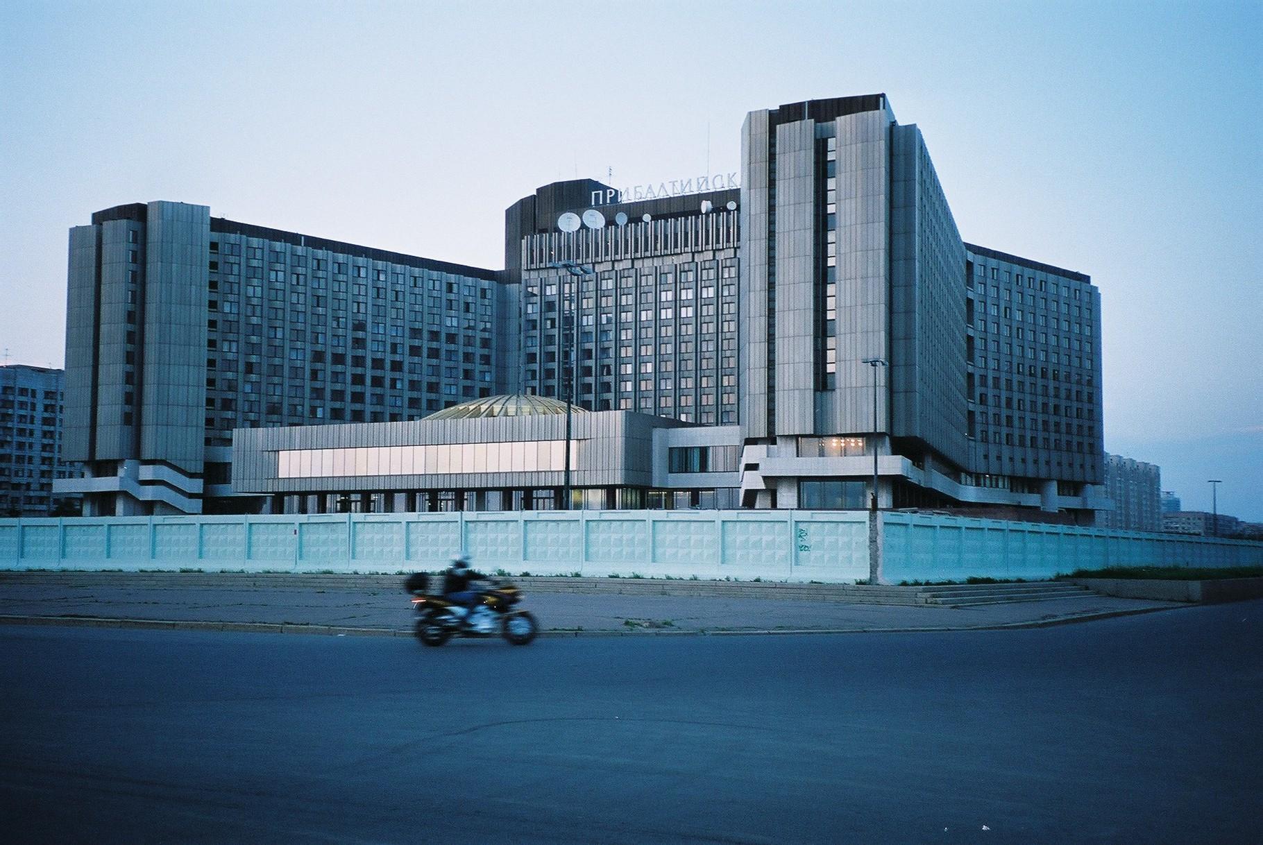 """das Hotel wie eine """"Festungsanlage"""""""