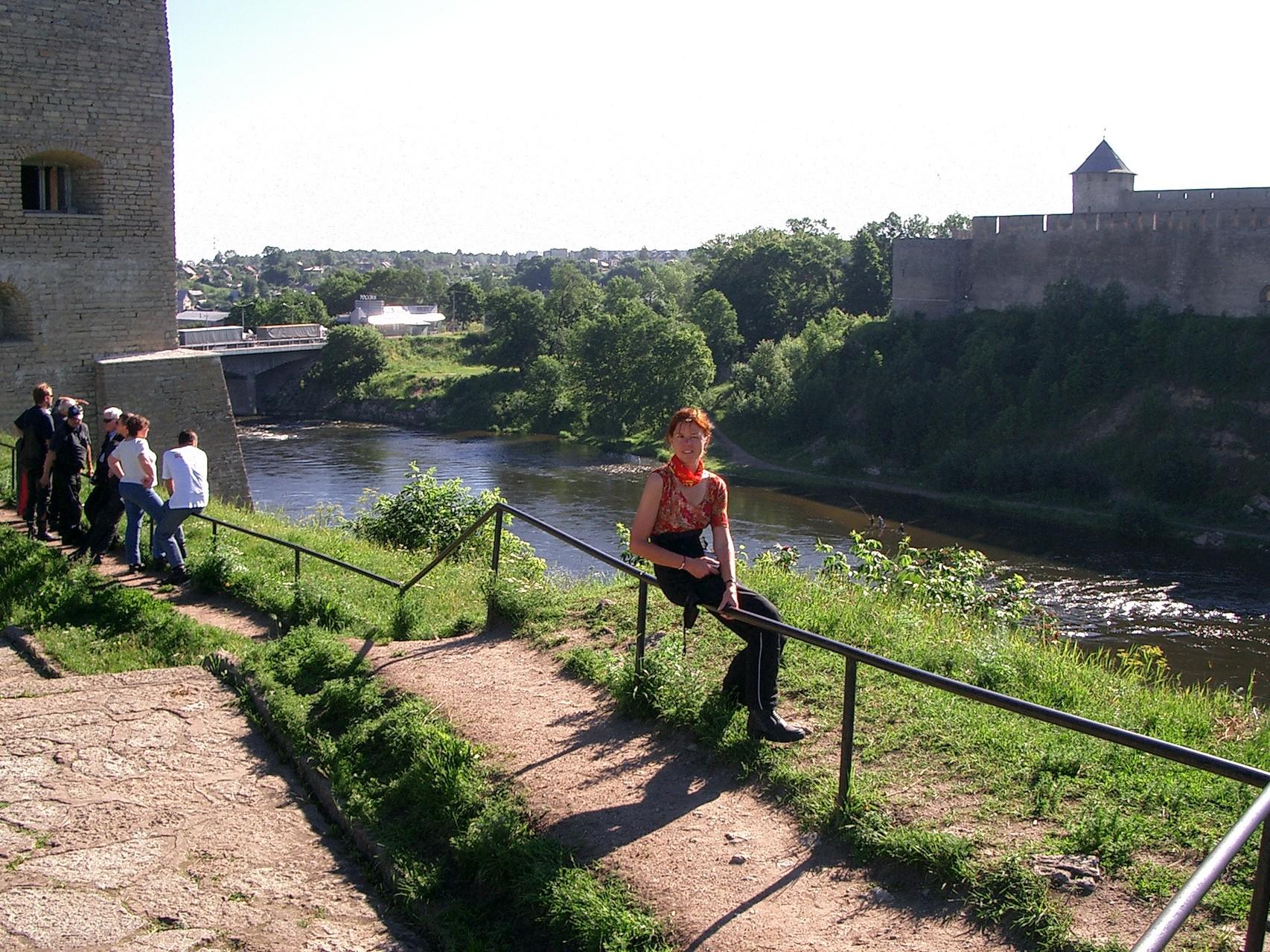 am Grenzfluß Narva