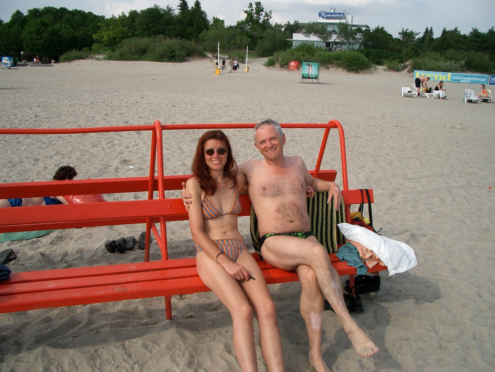 Strandpause in Pärnu