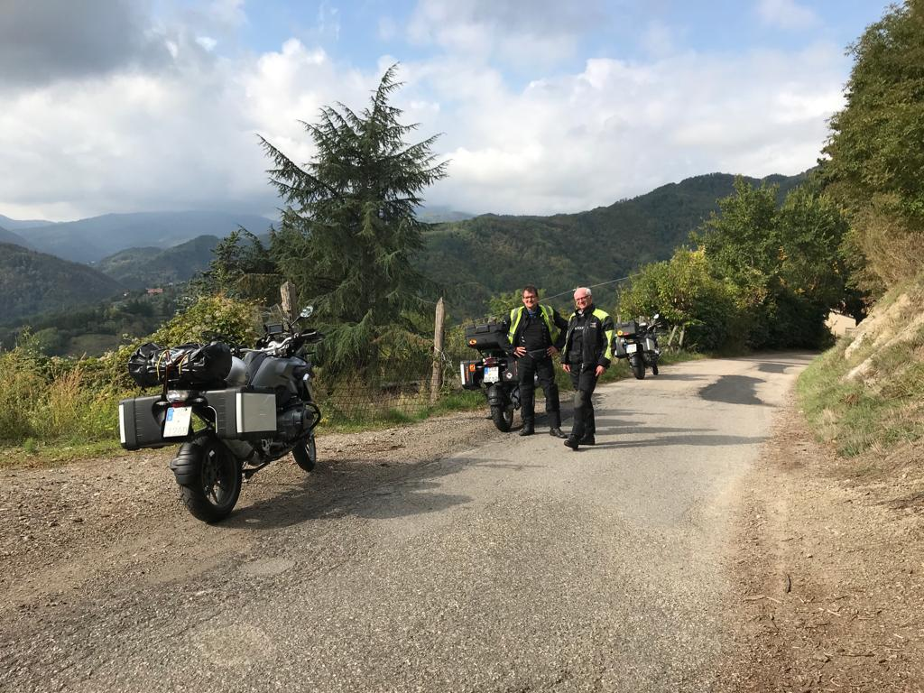 Auf dem Weg durch die Toscana ...
