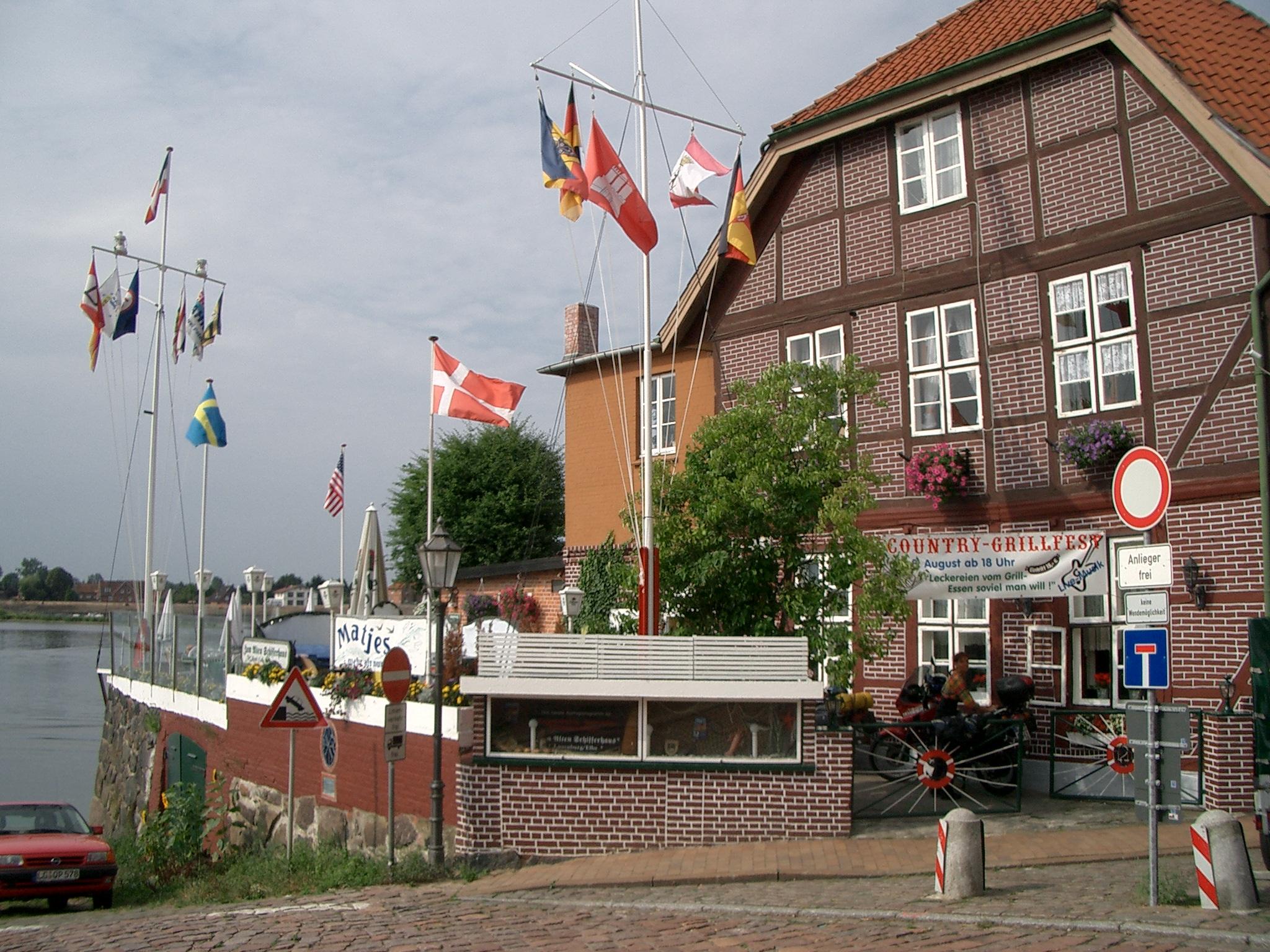 Alte Schifferhaus in Lauenburg an der Elbe