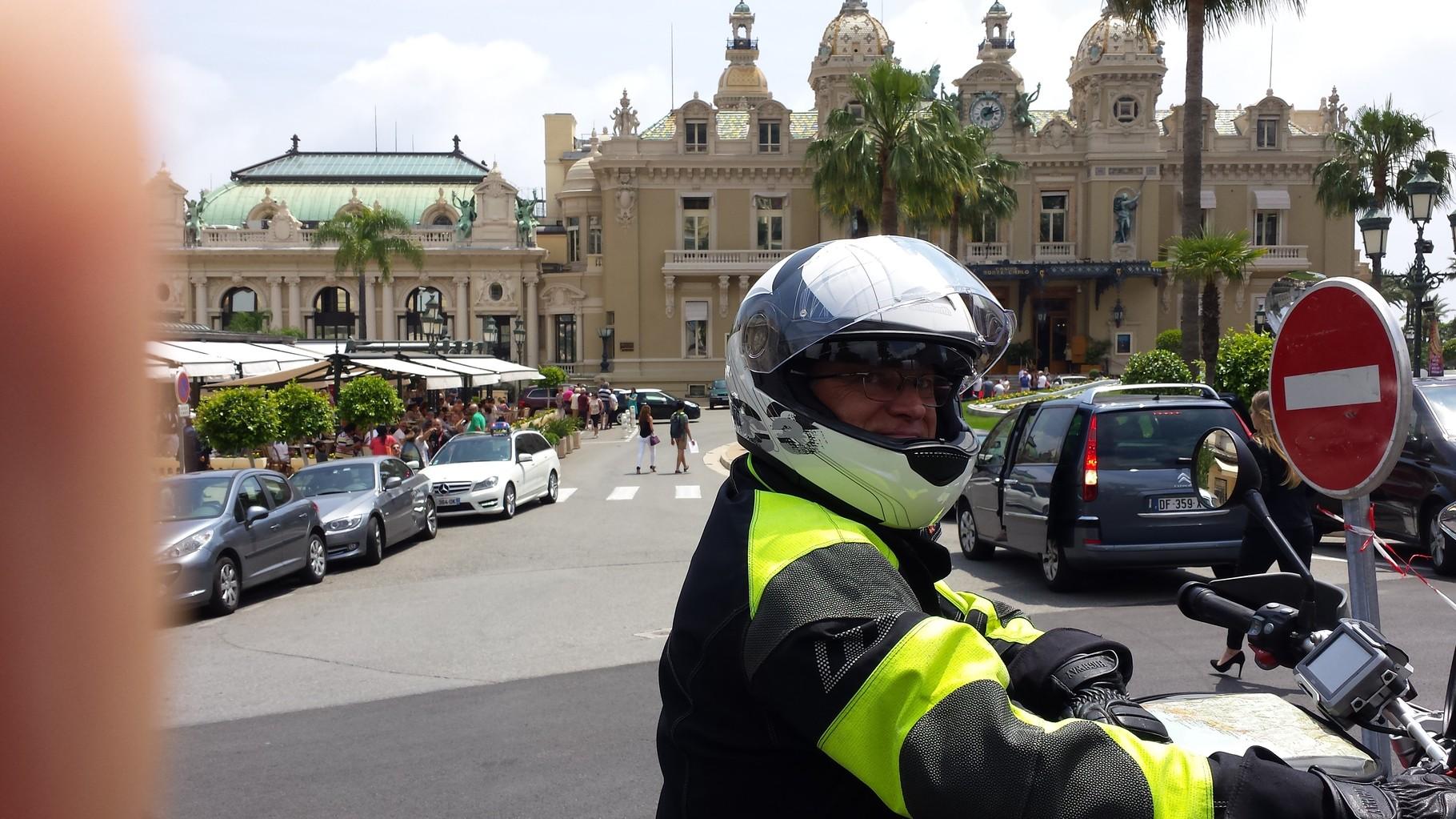 in Monte Carlo (voll und hektisch)