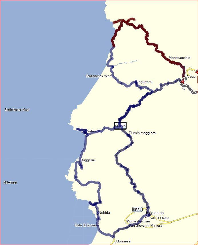 Costa Verde im Westen