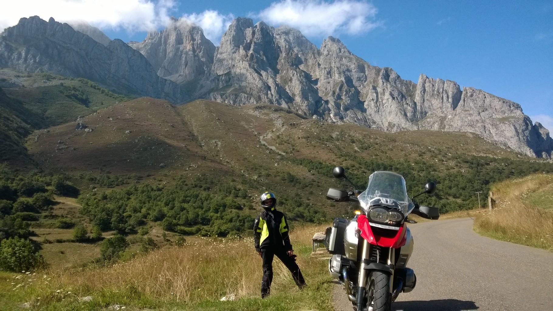 Berge und Kurven ohne Ende