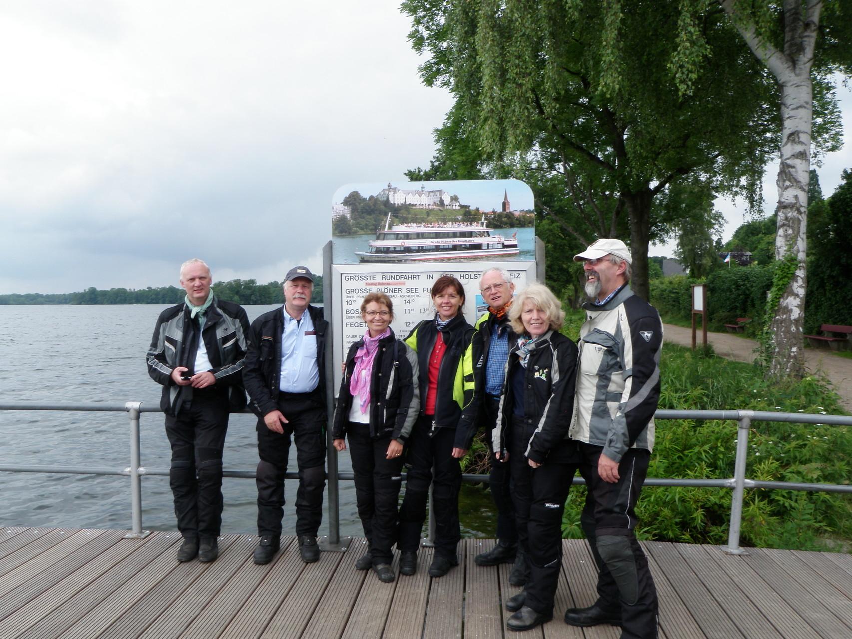 Plöener See - auch hier gibts große Rundfahrten