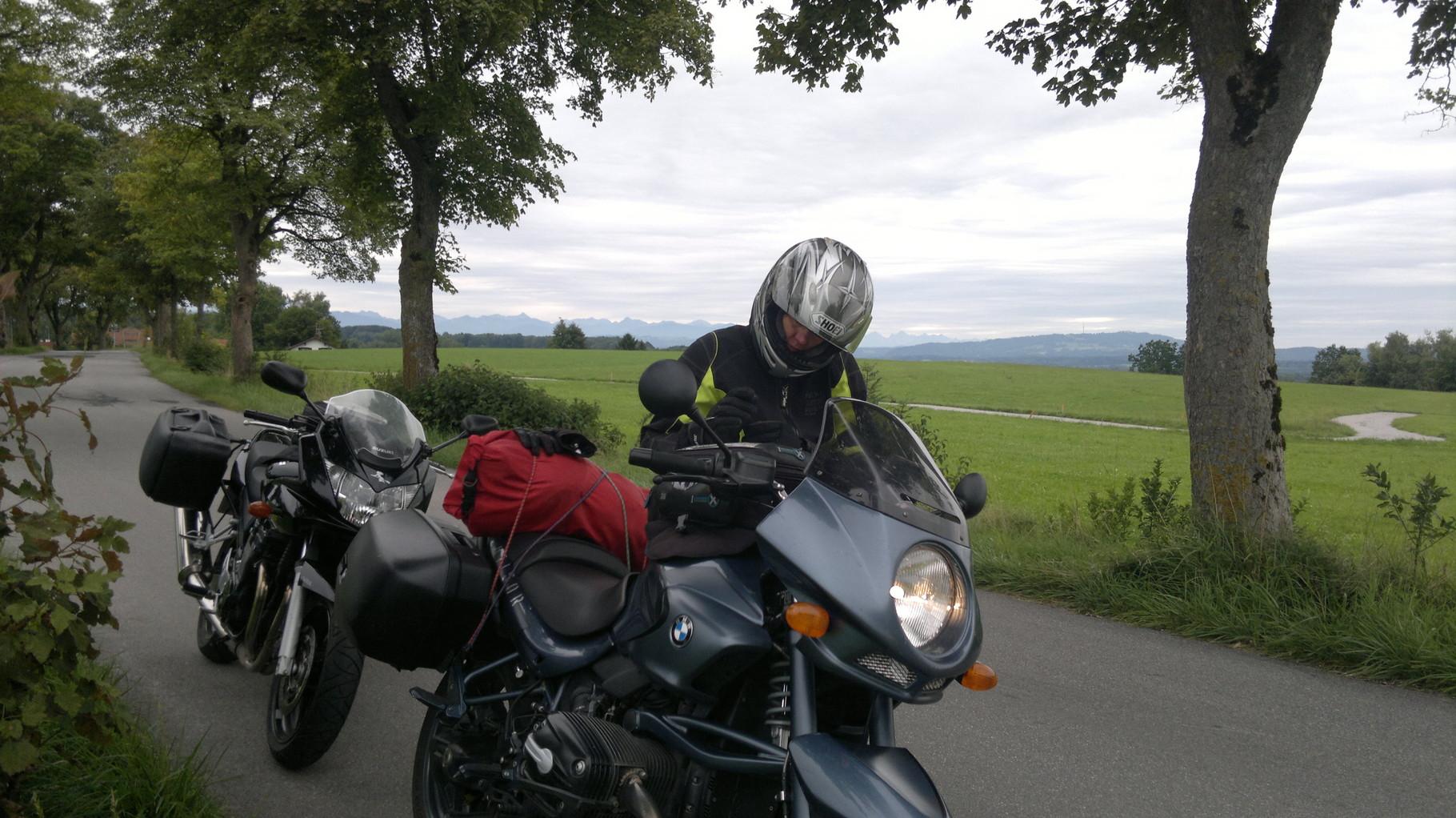 Zwischenstopp nahe Ammersee