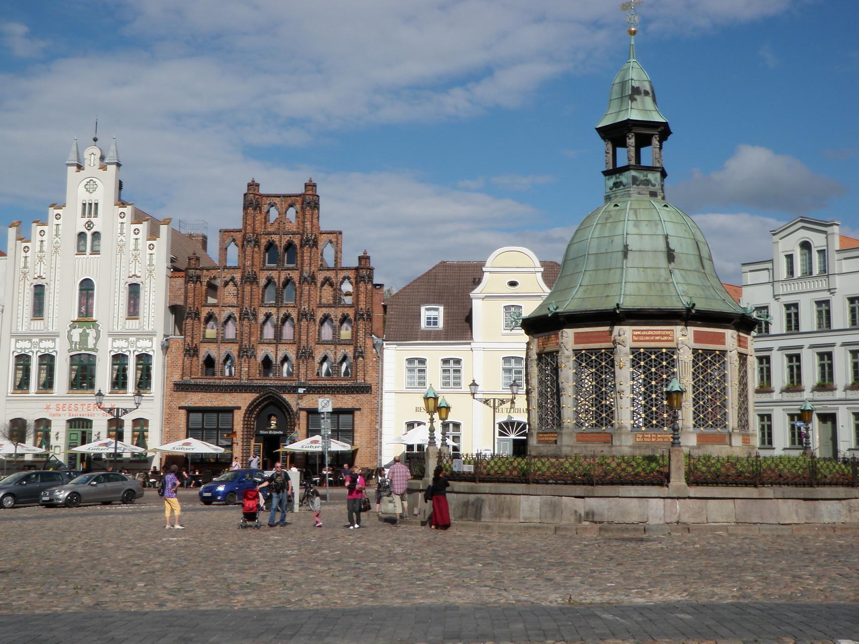 Wismar - Alter Schwede und Wasserkunst