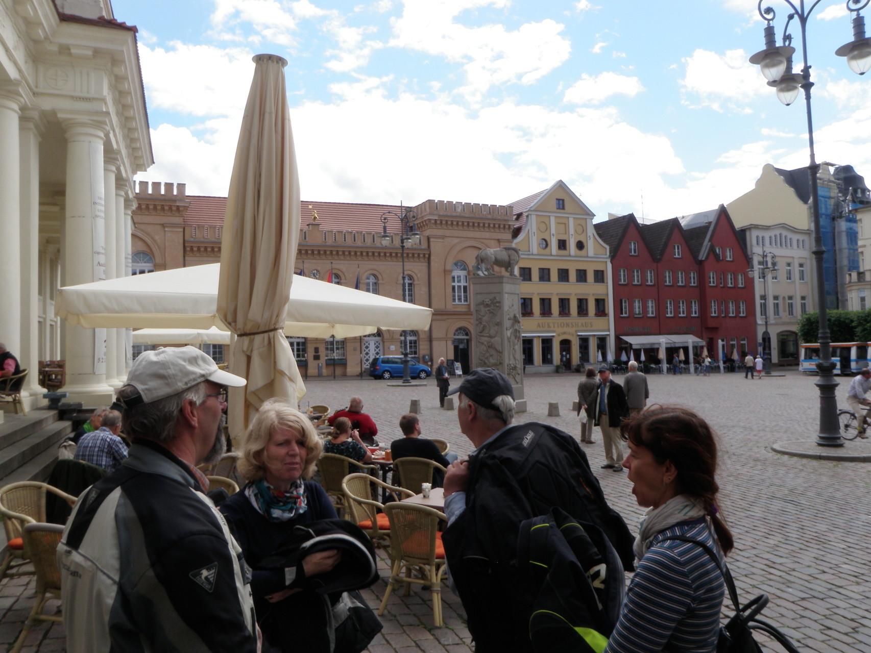 Wismar - auf dem größten Marktplatz Norddeutschlands