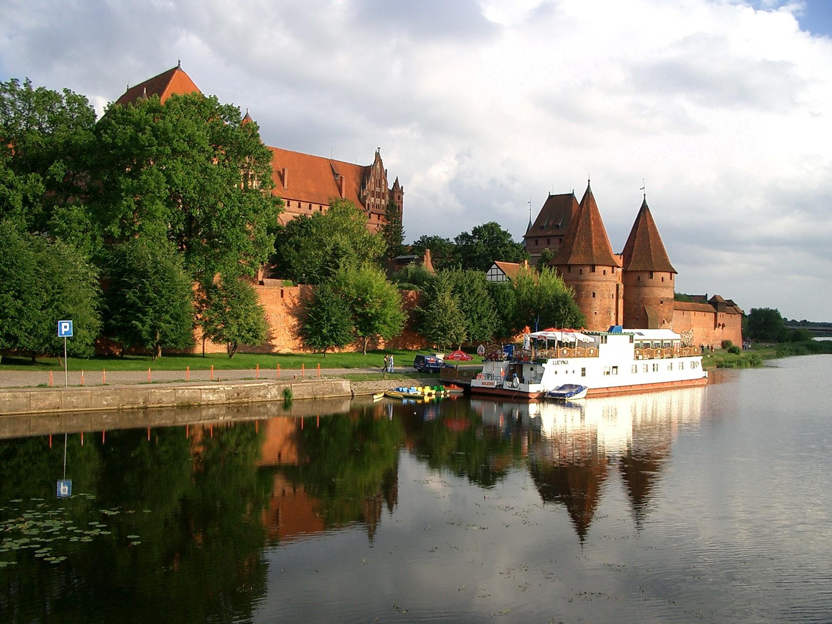 die Marienburg des Deutschordens