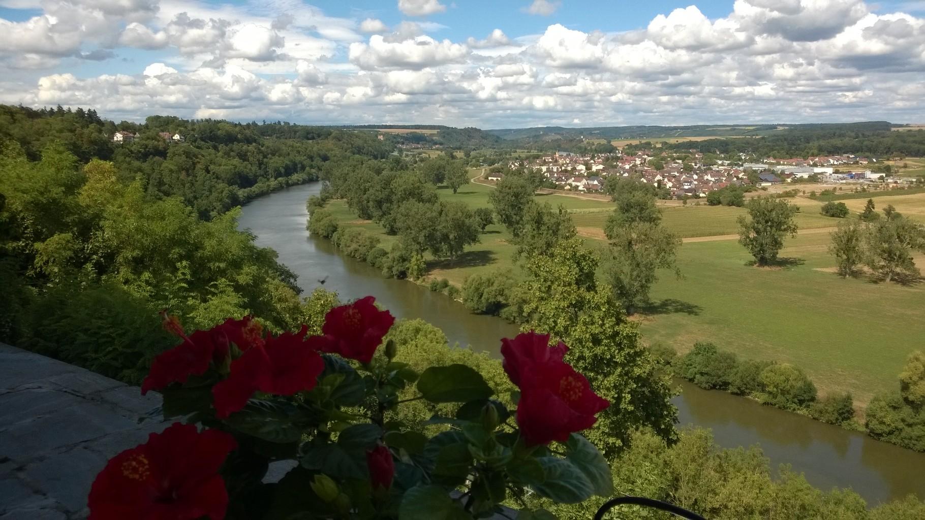 Bad Wimpfen - mit Blick auf den Neckar