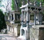 visite du cimetière du Père Lachaise