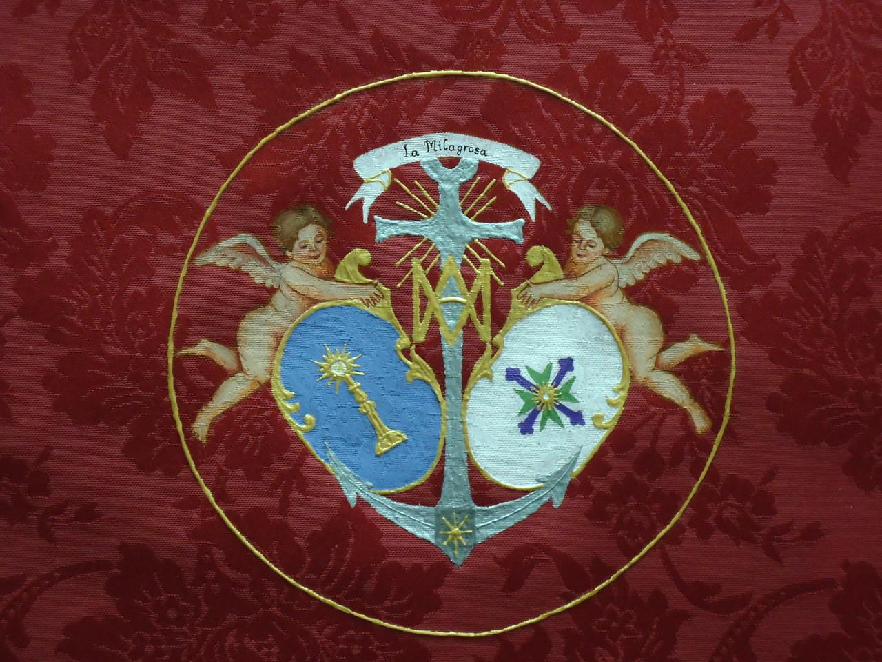 Detalle escudo dosel