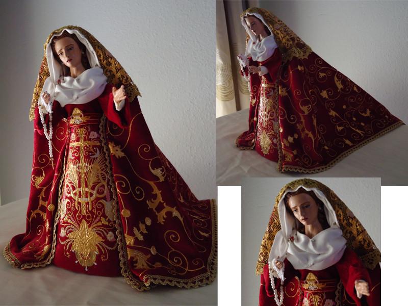 Réplica Virgen del Gran Poder León 2 (maqueta paso de palio)