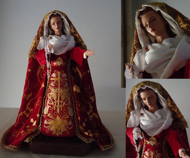 Réplica Virgen del Gran Poder (León)