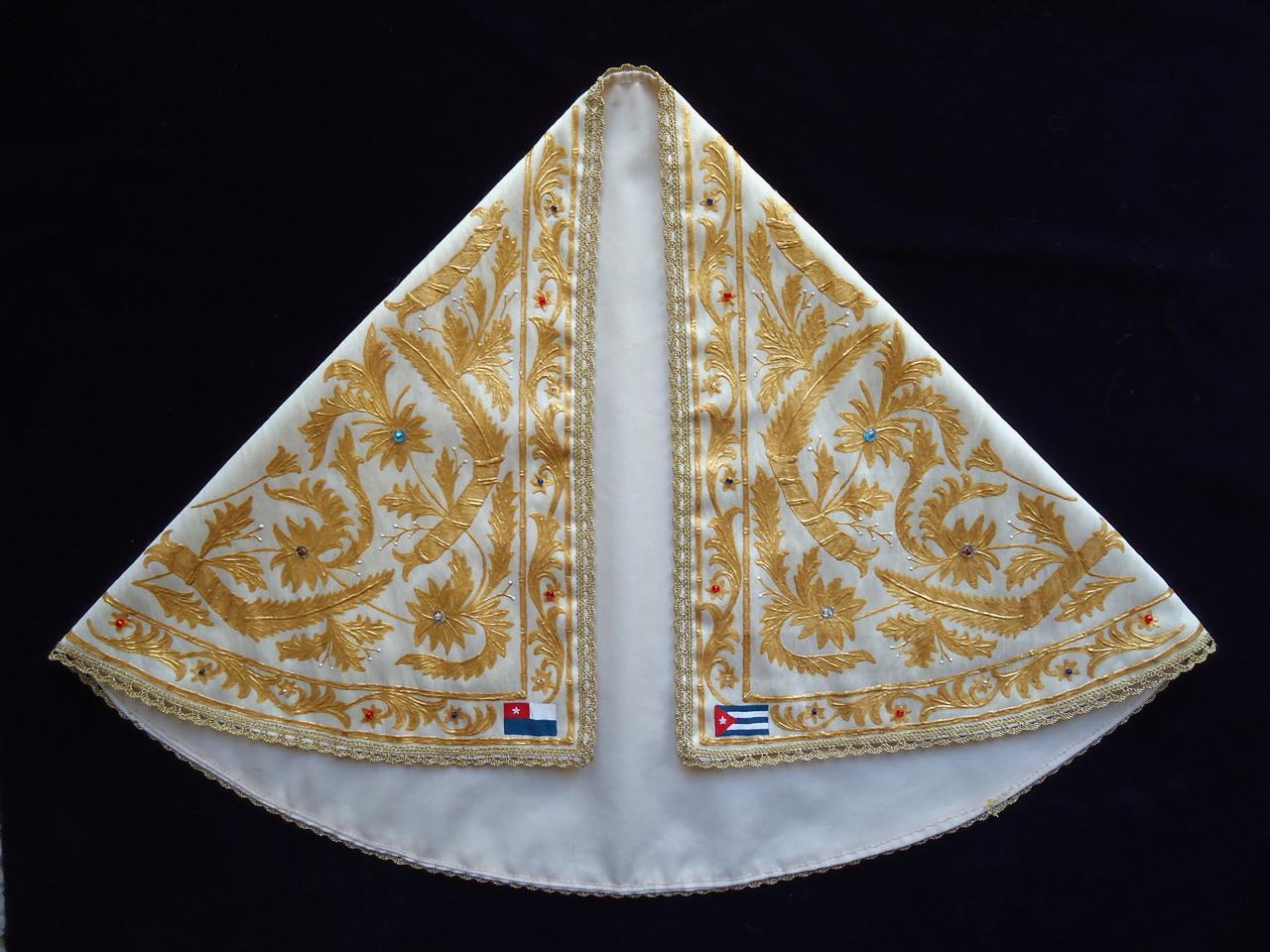 Réplica manto de la Virgen de la Caridad del Cobre (Patrona de Cuba)