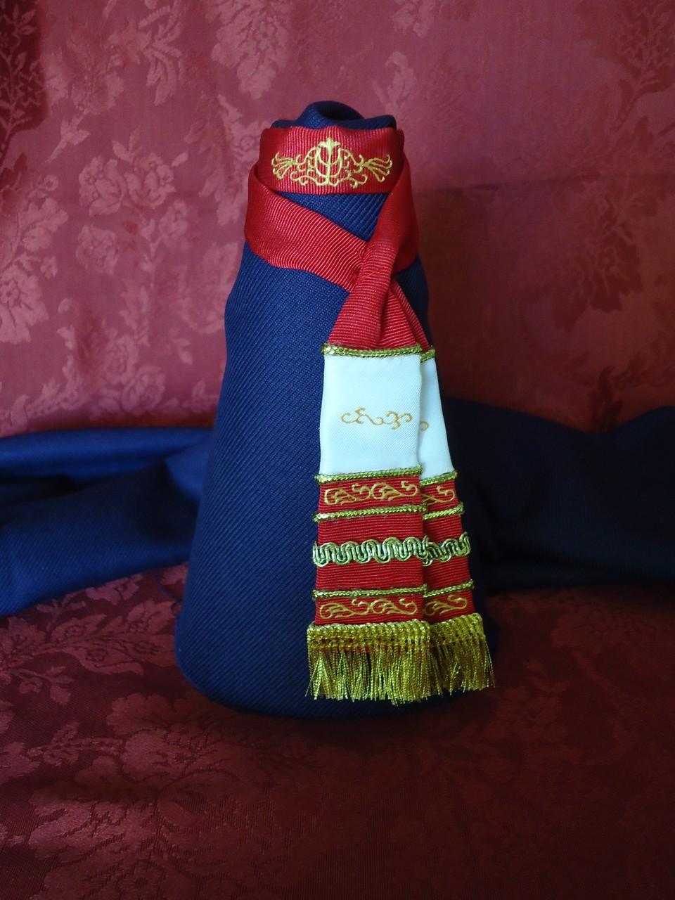 Fajín combinado, réplica Virgen del Perdón Ciudad Real