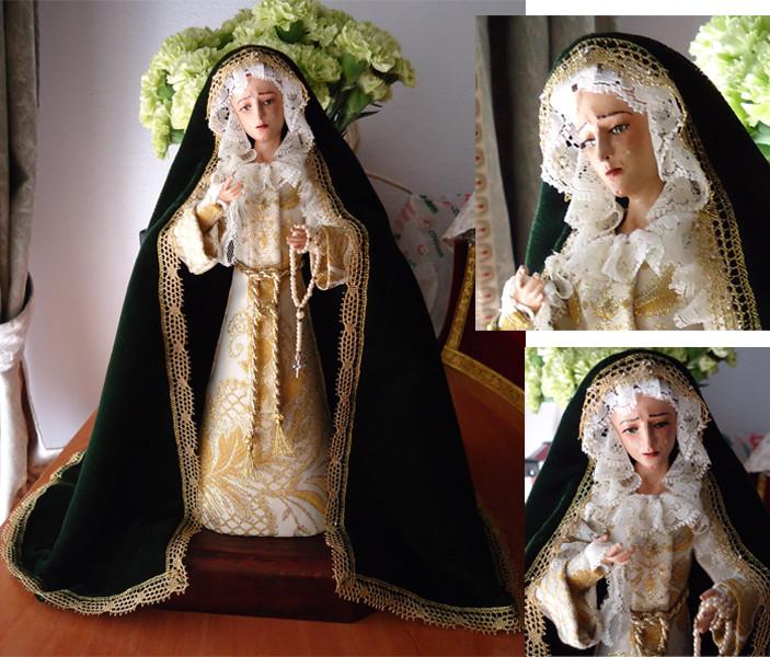 Réplica Virgen del Sol Sevilla