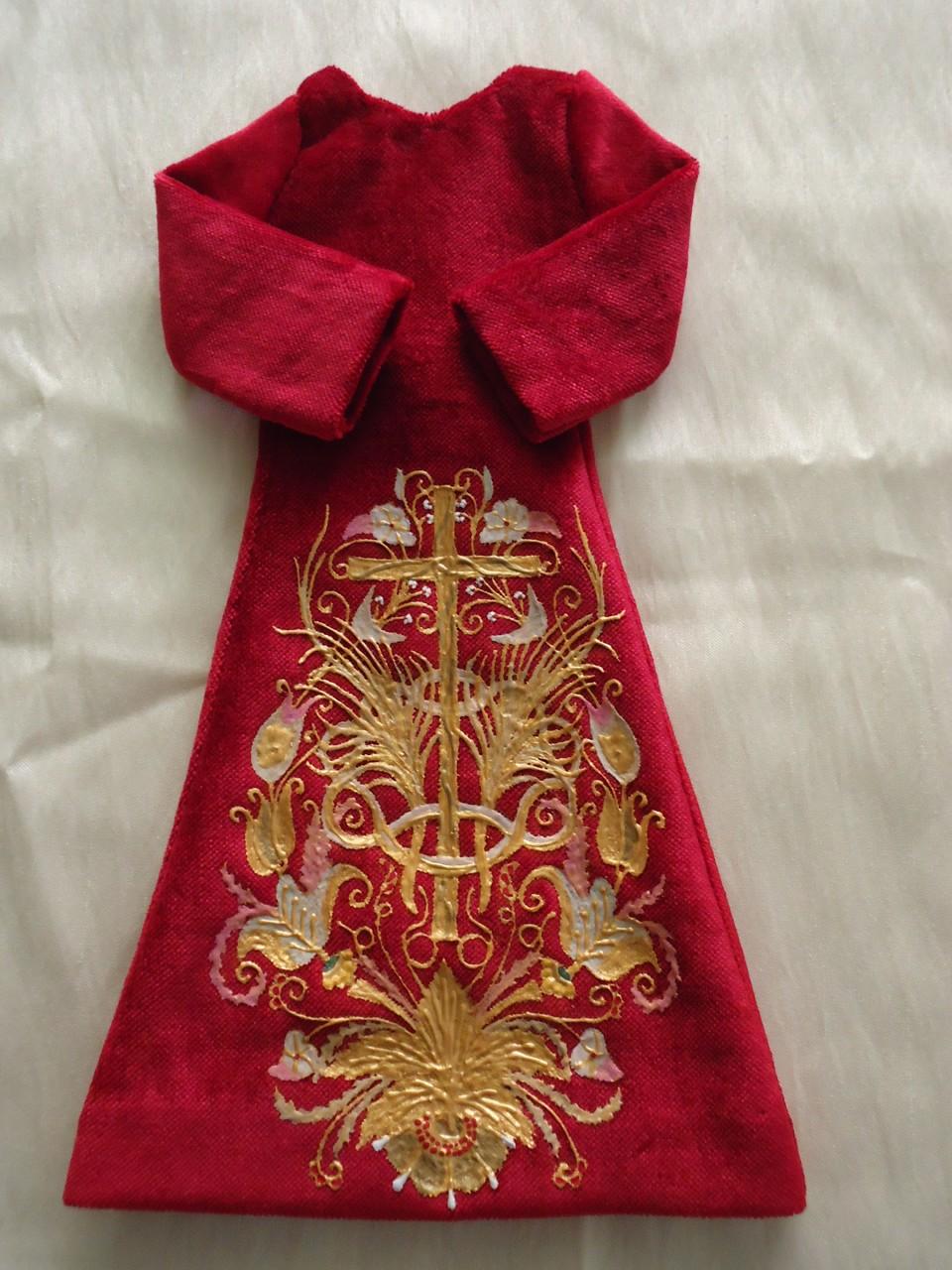 Réplica de la saya procesional de la Virgen del Gran Poder de León