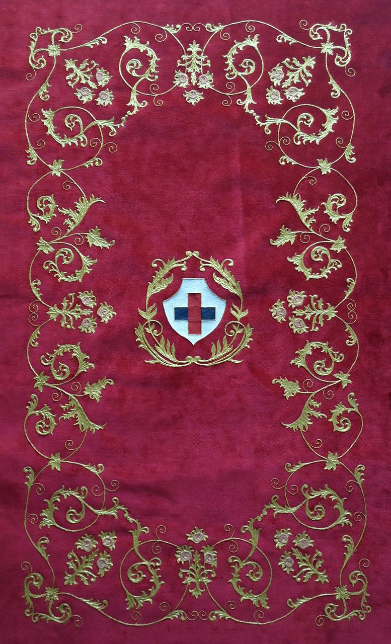 Techo de palio, réplica palio Virgen del Gran Poder León