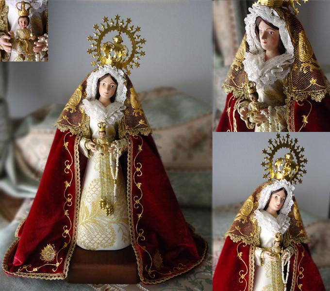 Réplica Virgen del Castillo Lebrija (Sevilla)