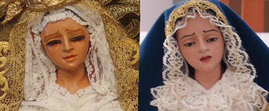 Restauración Virgen 50 cm
