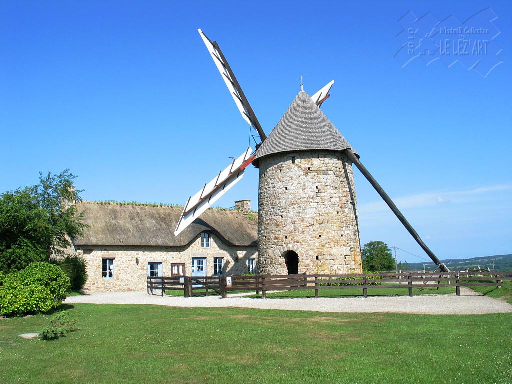 Le Moulin de Fierville-les-Mines à 1h00 du gîte
