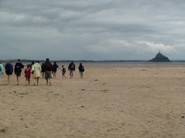 La Traversée des Grèves du Mont-Saint -Michel