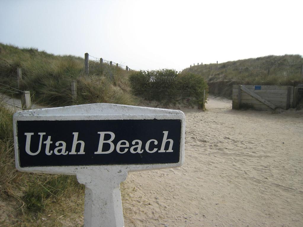 Utah Beach à 1h10 du Gîte