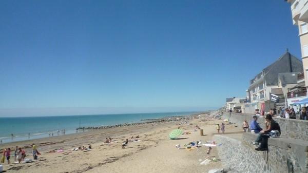 Les plages de Coutainville à 25min du gîte
