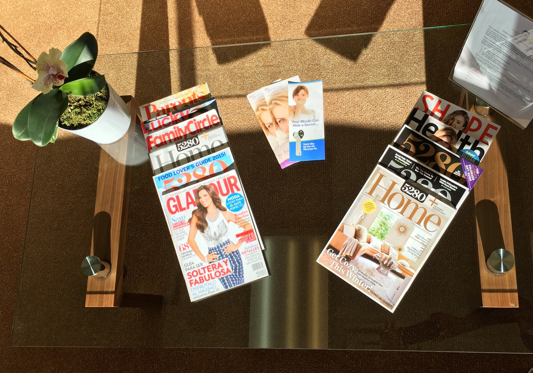 Lobby | Relax and enjoy your visit with magazines, filtered water, and Wifi