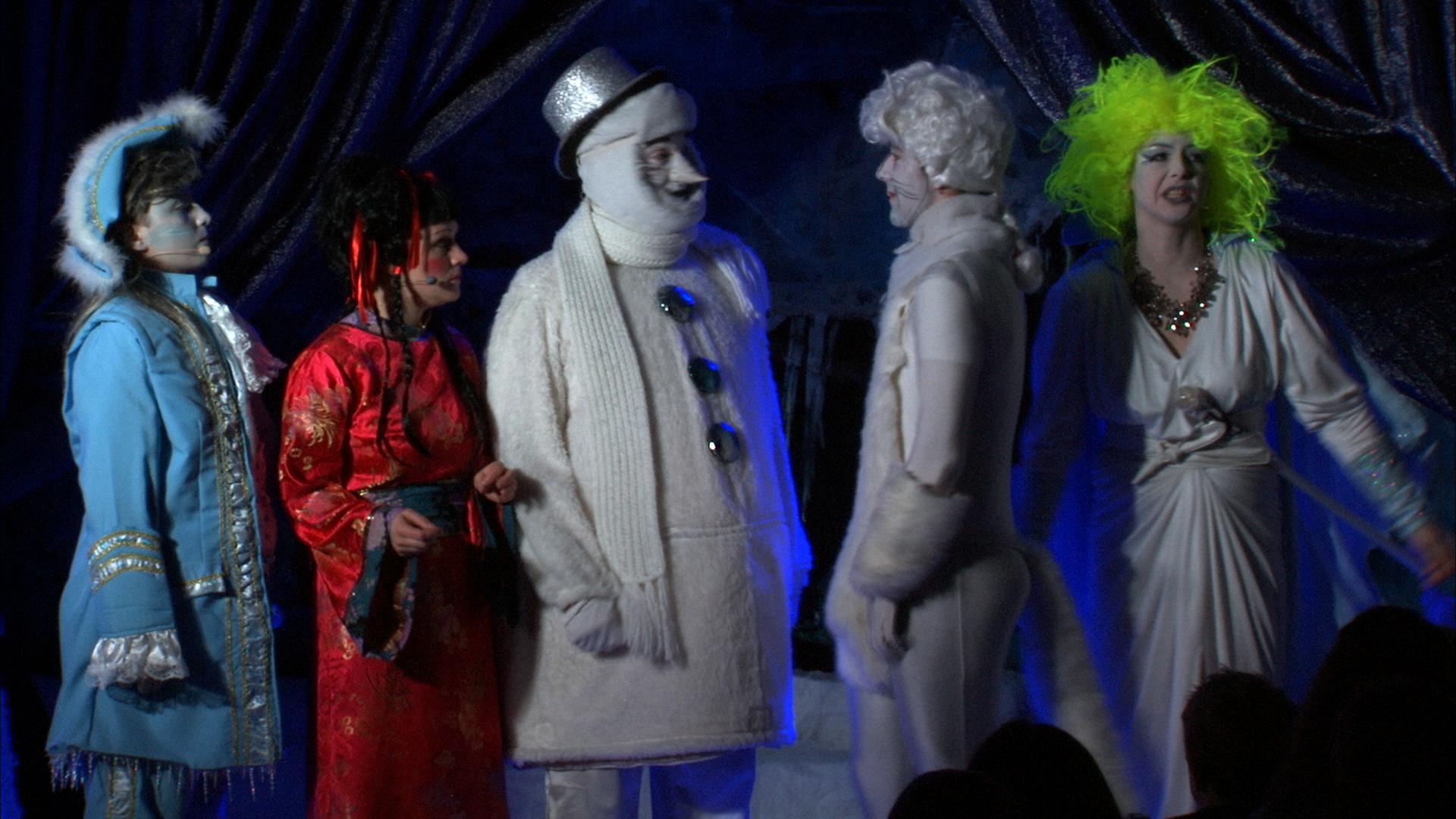 Bühnen-Szene - Balduin - Snowie und Shan Shi