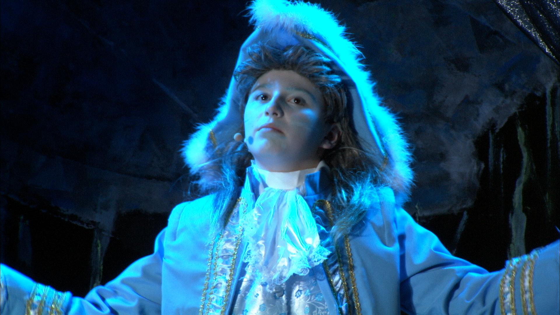 Bühnen-Szene - Der vereiste Prinz