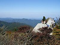 匹見羅漢山山頂からの眺め