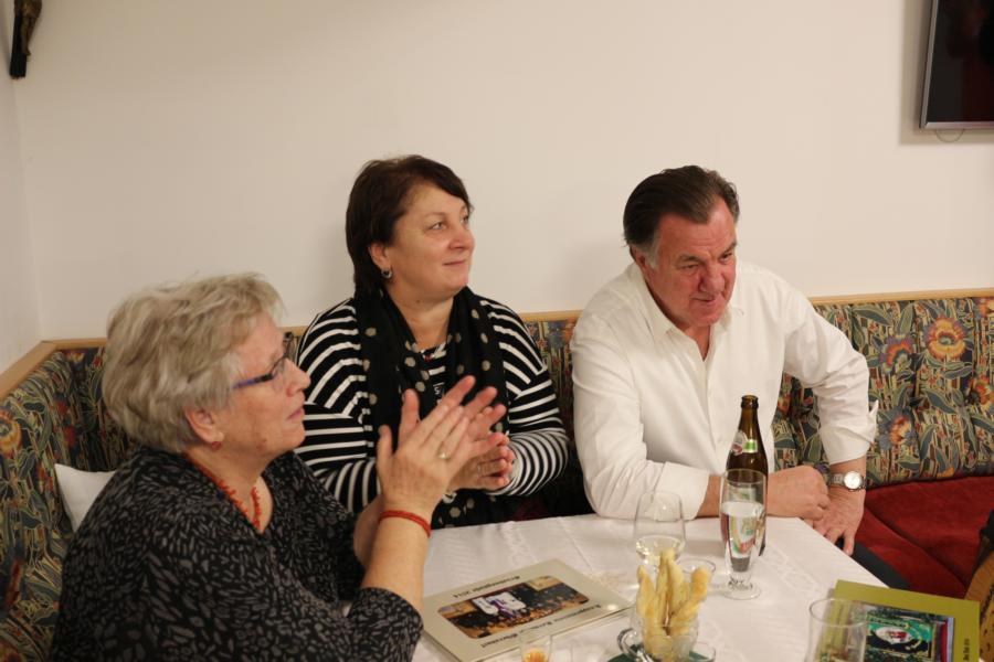 Helga, Maria u. Heinz - Foto: S.Trabi