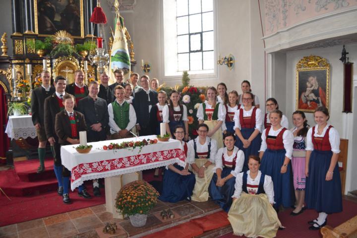 Erntedank 2018 - Landjugend Oberndorf -Foto: C.Trixl