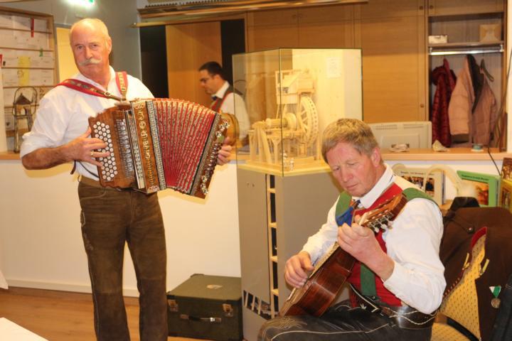 Die Musikanten Sepp und Franz