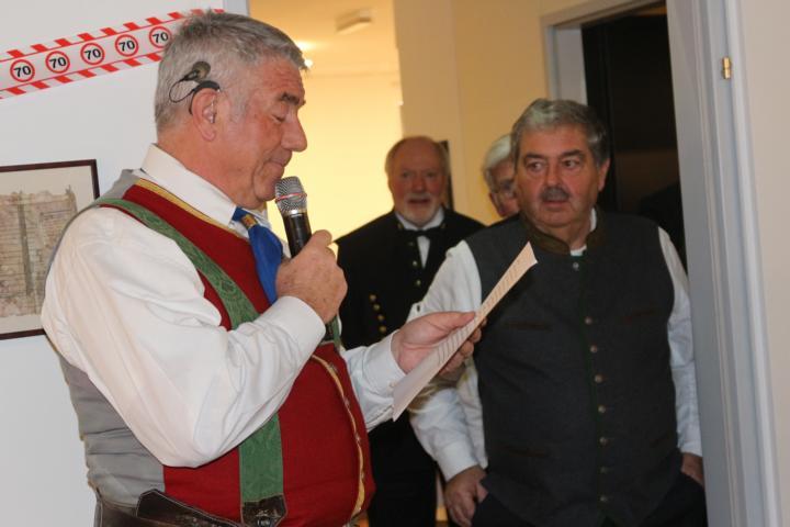 Hans Brandstätter gratuliert mit einem Gedicht