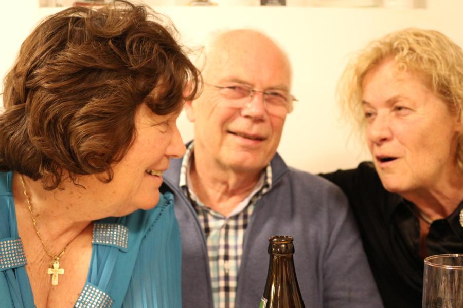 Barbara, Gerd u. Henrike - Foto: S.Trabi