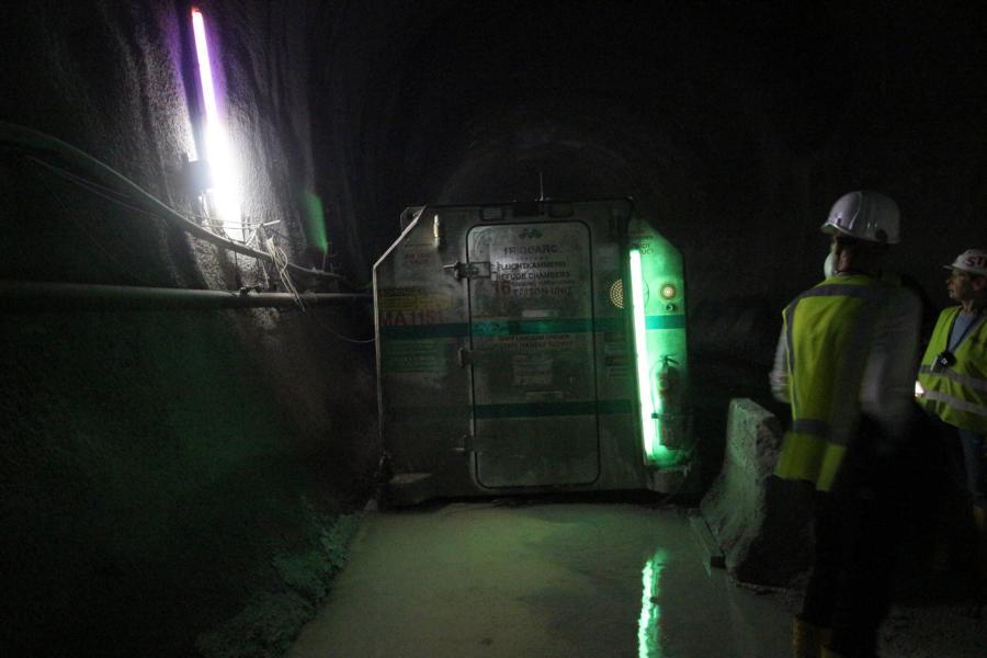 Rettungscontainer für Besucher
