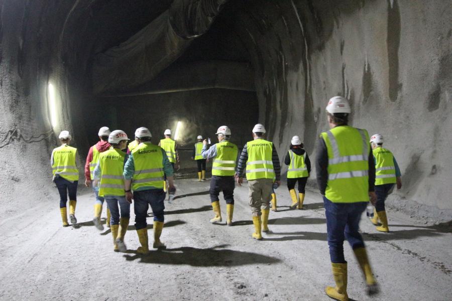 Ab ins Tunnelsystem