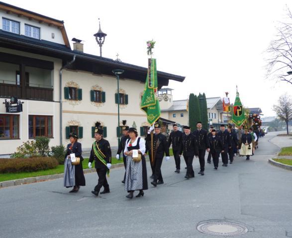 Erntedank 2018 - Festumzug zur Kirche -Foto: C.Trixl