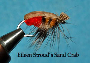 Eileen Stroud's Sand Crab fly