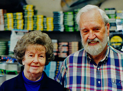 Bill and Eileen Stroud, Stroud Tackle Fly Fishing  founders, San Diego