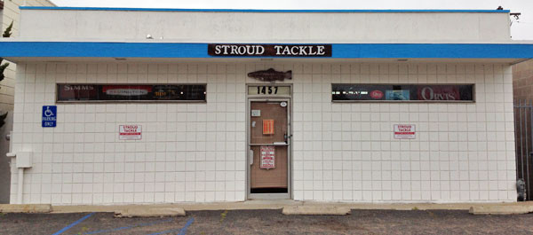 Image of Stroud Tackle Store Front, San Diego