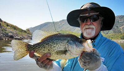 Fly Fishing Crappie San Diego Lake Barrett