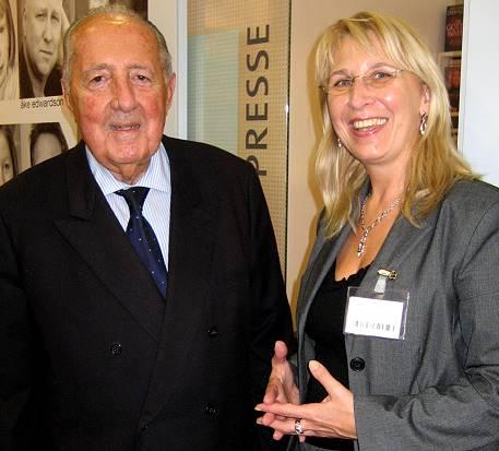 Peter Scholl-Latour und Dagmar Schmidbauer