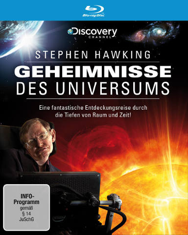 Cover Blu-ray Geheimnisse des Universums
